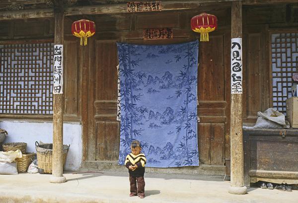 ENFANCES DU MONDE Olivier Tardiveau Photographe Nantes étonnante Gansu Chine b4-43