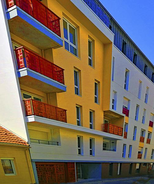IMMOBILIER_Olivier Tardiveau Nantes Étonnantes Photographe immeuble couleur perspective déformée a29-11