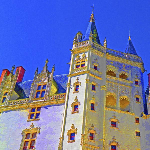 NANTES ÉTONNANTES Olivier Tardiveau Photographe Château des Ducs de Bretagne a1-7