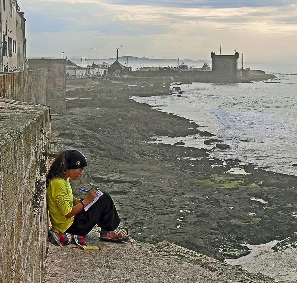 POESIE Olivier Tardiveau Photographe Nantes étonnante sérénités Essaouira Maroc b7-14