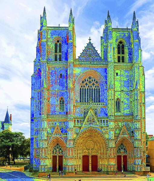 SPIRITUALITÉS Olivier Tardiveau Photographe Nantes étonnante Cathédrale a1-26