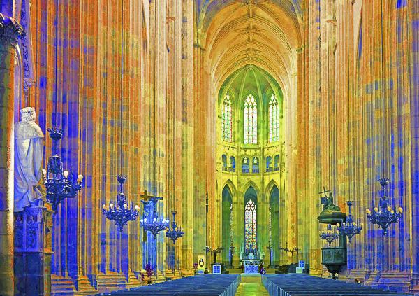 SPIRITUALITÉS Olivier Tardiveau Photographe Nantes étonnante Nef Cathédralistique a1-30