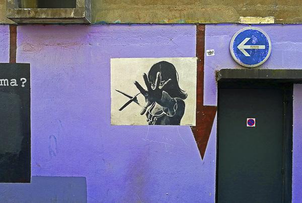 Street Art Olivier Tardiveau Photographe Nantes étonnante rue Scribe a11-20a