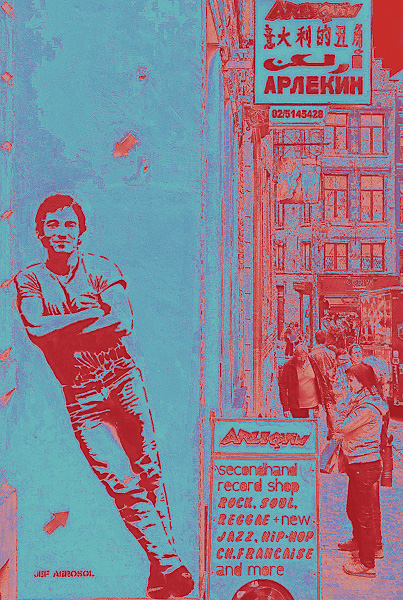 Street Art Olivier Tardiveau Photographe Nantes étonnante Bruxelles a11-30