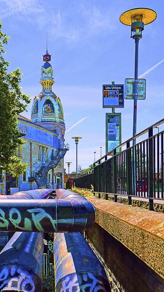 Street Art Olivier Tardiveau Photographe Nantes étonnante Tour LU a11-6
