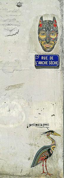 Street Art Olivier Tardiveau Photographe Nantes étonnante rue de l'Arche Sèche a11-9
